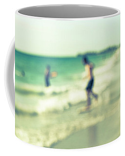 Coffee Mug featuring the photograph a day at the beach III by Hannes Cmarits