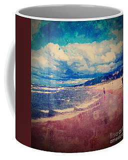 Coffee Mug featuring the photograph A Day At The Beach by Phil Perkins