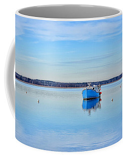 A Day At The Beach Coffee Mug by Tricia Marchlik
