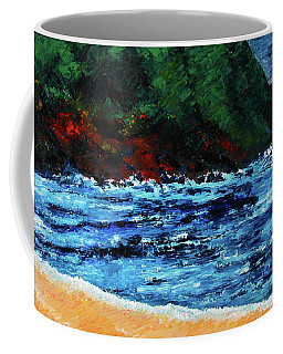 A Day At The Lake In Austin Texas Coffee Mug