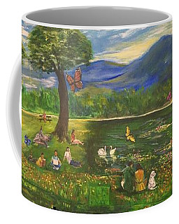 A Day In The Park - 1a Coffee Mug by Belinda Low