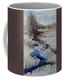 Coffee Mug featuring the painting A Day Like That by Sandra Strohschein