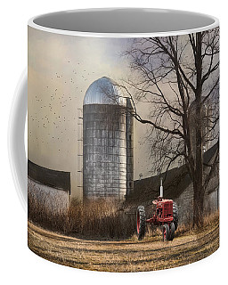 Coffee Mug featuring the photograph A Day Off by Robin-Lee Vieira