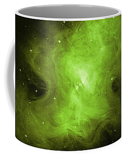 Coffee Mug featuring the photograph A Death Star's Ghostly Glow by Nasa
