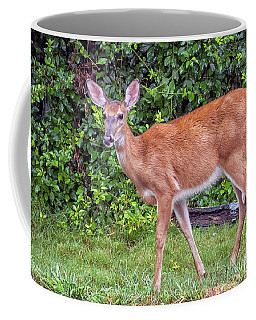 A Deer Young Lady Coffee Mug