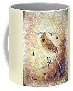 Coffee Mug featuring the photograph A Delicate Thing by Betty LaRue