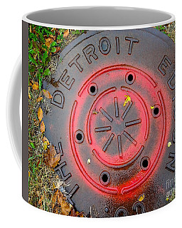 A Detroit Thing Coffee Mug by Sandra Church