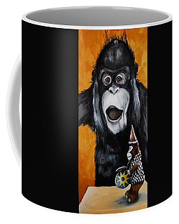 A Different Drummer Coffee Mug by Jean Cormier