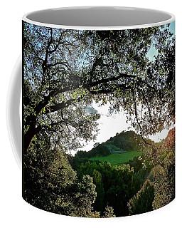 A Distant Cross Coffee Mug