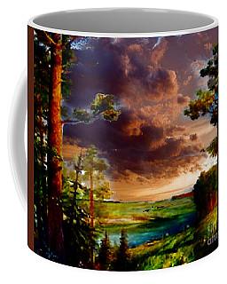 A Distant View Coffee Mug