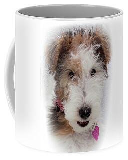 A Dog Named Butterfly Coffee Mug by Karen Wiles
