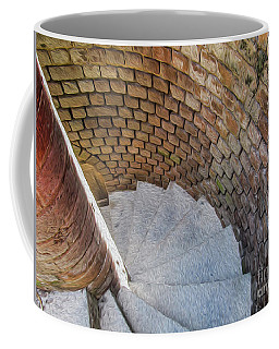 A Downward Spiral In Time Coffee Mug