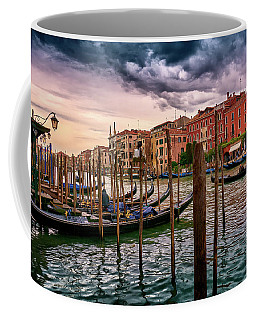 Surreal Seascape On The Grand Canal In Venice, Italy Coffee Mug