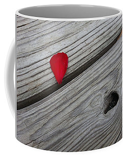 Coffee Mug featuring the photograph A Drop Of Color by Robert Knight