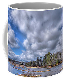 Coffee Mug featuring the photograph A Dusting Of Snow by David Patterson
