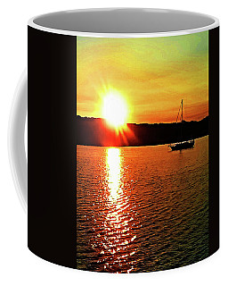 A Early Springtime Visit To Mystic Village In M Coffee Mug