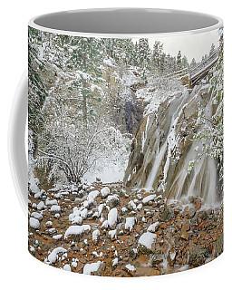 A Factitious Bridge In A Natural Environment  Coffee Mug