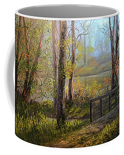 A Fall Day  Coffee Mug