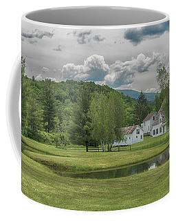 A Farm In Shaftsbury Coffee Mug by Guy Whiteley
