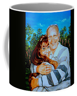 A Father And Daughter Coffee Mug by Ruanna Sion Shadd a'Dann'l Yoder