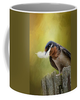 A Feather For Her Nest Coffee Mug
