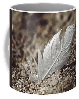 A Feather In Time Coffee Mug