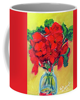 A Few More Geraniums Coffee Mug