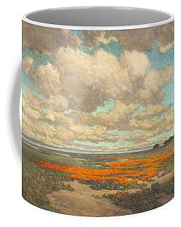 A Field Of California Poppies Coffee Mug