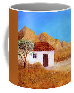 Coffee Mug featuring the painting A Finca In Spain by Valerie Anne Kelly