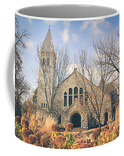 Coffee Mug featuring the photograph A Fine Autumn Day by Viviana  Nadowski