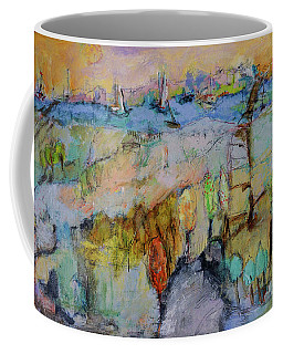A Fine Day For Sailing Coffee Mug by Sharon Furner