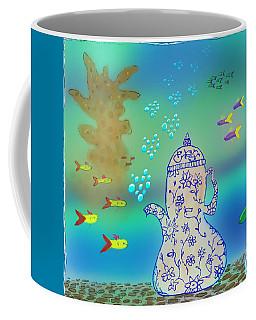 A Fishy Tea Pot Coffee Mug