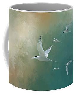 A Flight Of Terns Coffee Mug