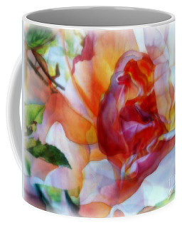 A Floral Illusion Coffee Mug
