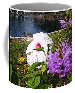 A Flower Blossoms Coffee Mug by B Wayne Mullins