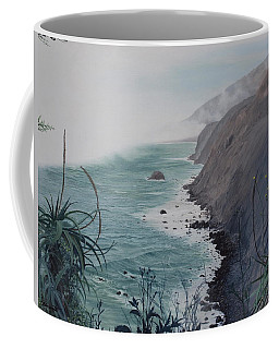 A Fog Creeps In Coffee Mug