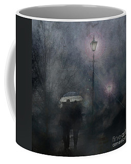 A Foggy Night Romance Coffee Mug