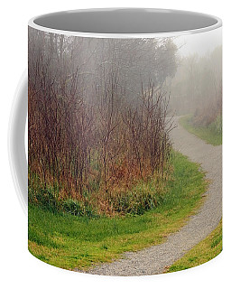 A Foggy Path Coffee Mug