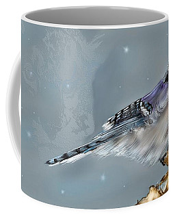 Coffee Mug featuring the digital art A Friend For Lunch Three by Darren Cannell