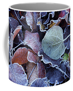 A Frosty November Morning Coffee Mug by Mike Eingle