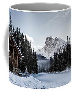 A Frozen Emerald Lake Morning Coffee Mug