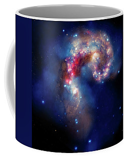 Coffee Mug featuring the photograph A Galactic Spectacle by Marco Oliveira