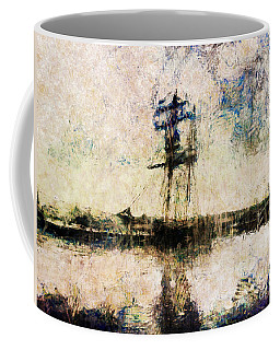 Coffee Mug featuring the photograph A Gallant Ship by Claire Bull