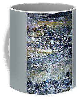 Coffee Mug featuring the painting A Gentle Earth by Nancy Kane Chapman