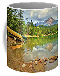 Coffee Mug featuring the photograph A Gentle Light At Lake Annette by Tara Turner
