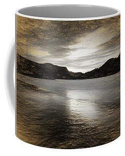 A Ghost Escapes Touching  Coffee Mug by Sir Josef - Social Critic -  Maha Art