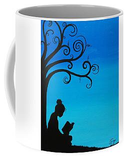 A Girl And Her Book Coffee Mug