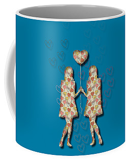 A Girl Loves A Girl Coffee Mug