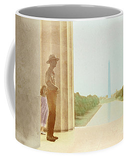 A Girl Suddenly Appears Coffee Mug