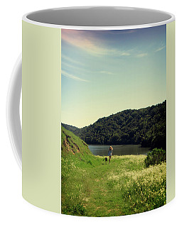 Coffee Mug featuring the photograph A Girl's Best Friend by Nancy Ingersoll